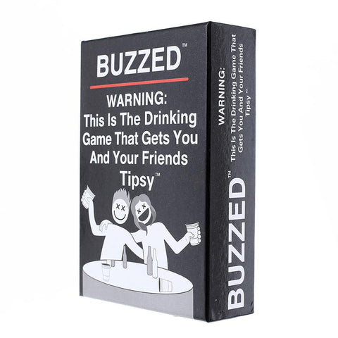 buzzed The Drinking Game That Gets You and Your Friends Tipsy Playing Poker