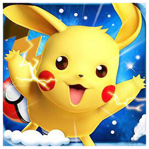 Diamond Painting - Full Round - Cute Pikachu