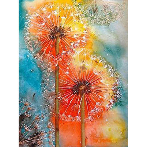 Diamond Painting - Full Square - Dandelion