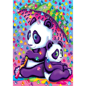 Diamond Painting - Full Square - Cute Panda