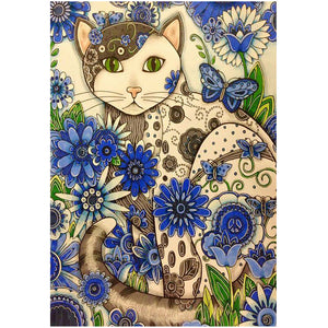 Diamond Painting - Full Square - Cat