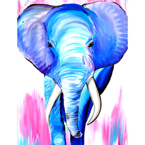 Diamond Painting - Full Square - Elephant