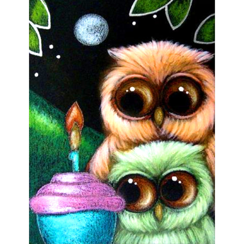 Diamond Painting - Full Square - Cute Animal
