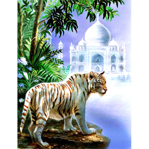 Diamond Painting - Full Square - Tiger