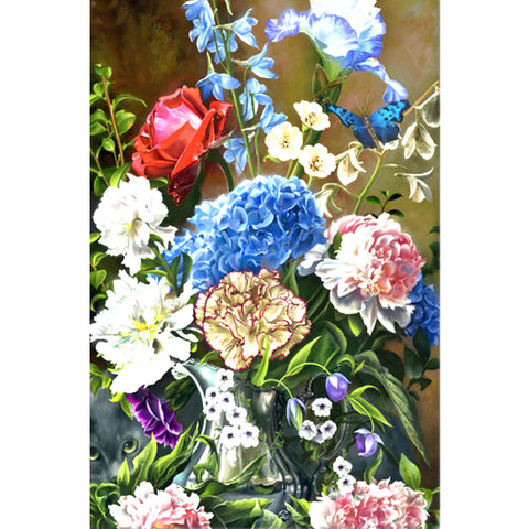 Diamond Painting - Full Square - Flower