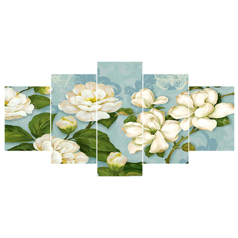 5 pcs Diamond Painting - Full Round - Flower