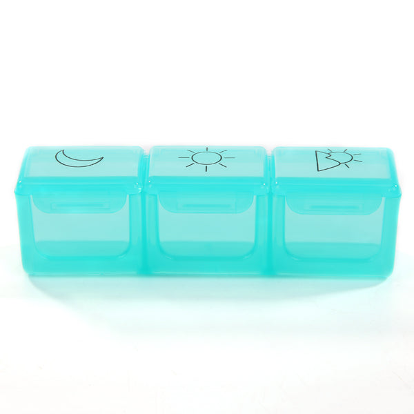 21 Grid 7 Days Weekly Pill Case Medicine Tablet Dispenser Pill Box Splitter