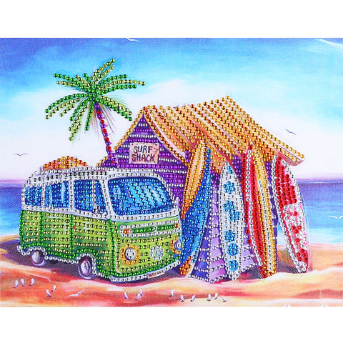Diamond Painting - Crystal Rhinestone - Beach Holiday Life