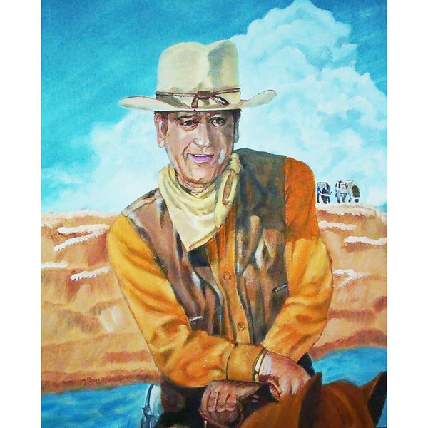 Diamond Painting - Full Round - Cowboy