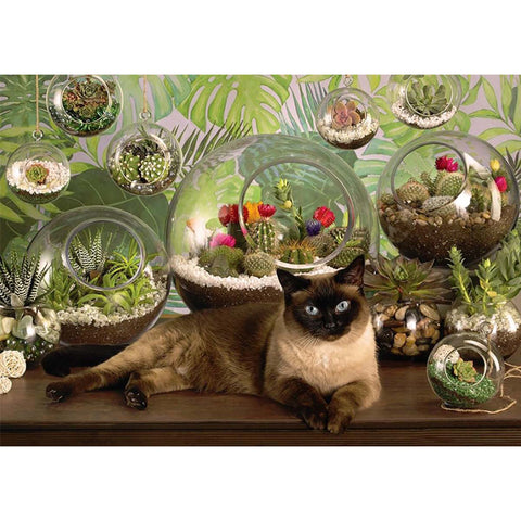 Diamond Painting - Full Square - Casual Cat