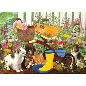 Diamond Painting - Full Square - Playing Cats