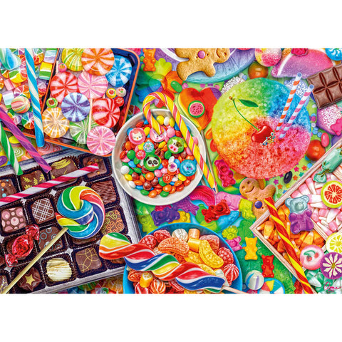 Diamond Painting - Full Square - Colorful Biscuits