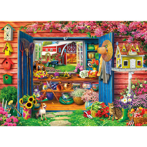 Diamond Painting - Full Square - Beautiful Garden