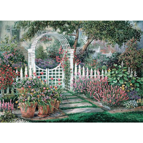 Diamond Painting - Full Square - Garden
