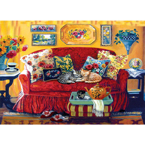 Diamond Painting - Full Square- Sweet Living Room