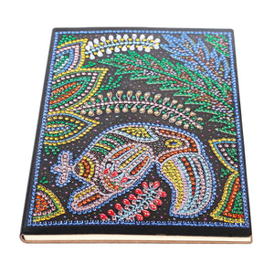 DIY Woodpecker Special Shaped Diamond Painting 50 Pages A5 Notebook Notepad