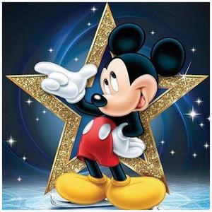 Diamond Painting - Full Round - Cool Mickey
