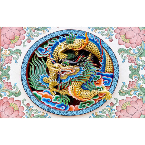 Diamond Painting - Full Round - Gold Dragon (40*60cm)
