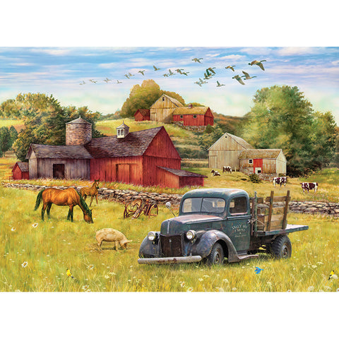 Diamond Painting - Full Square - Quiet Countryside