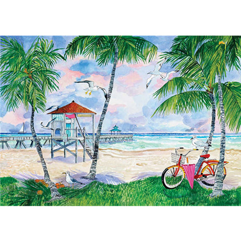 Diamond Painting - Full Square - Happy Beach Time