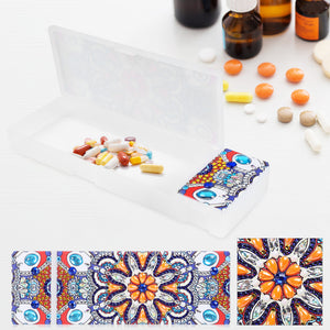 DIY Mandala Special Shaped Diamond Painting Stationery Storage Box Holder