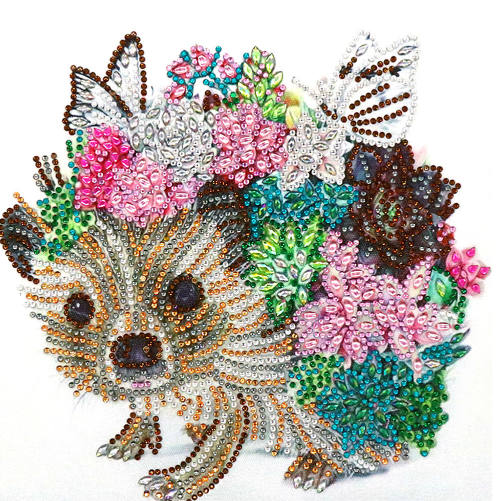Diamond Painting - Crystal Rhinestone - Dog