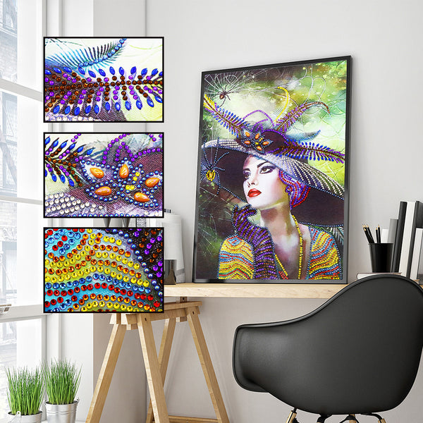 Diamond Painting - Crystal Rhinestone - Modern Beauty