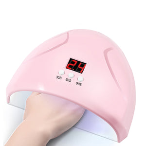 12 LED 36W Nail Art Dryer Light Manicure Drying Gel Polish Curing UV Lamp