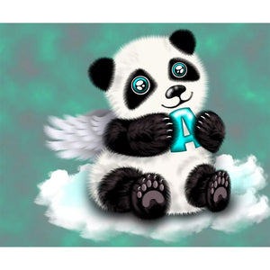 Diamond Painting - Full Round - Cute Panda