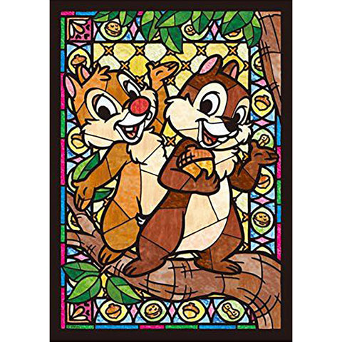 Diamond Painting - Full Round - Chip & Dale