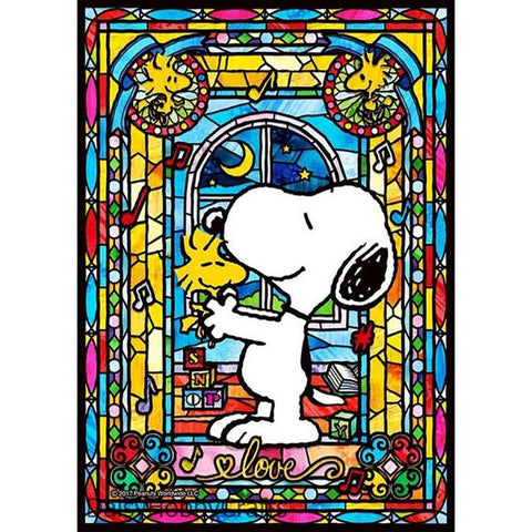 Diamond Painting - Full Round - Snoopy