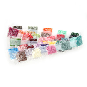 1 Pack 36 Colors Diamond Painting Accessory Beads