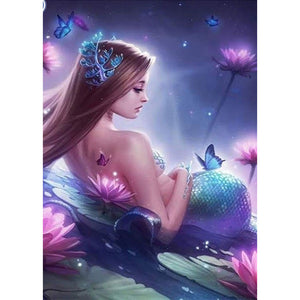 Diamond Painting - Full Round - Mermaid