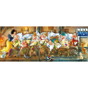 Diamond Painting - Full Round - Snow White and Seven Dwarfs(100*50cm)