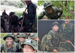 "Lieutenant ""Buakaw"" is showing his photos during the military drill and it looks AWESOME!!"