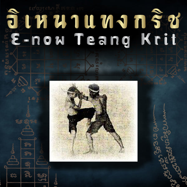 Muay Boran Moves : E-now Teang Krit (Punch Block & Counter With Knee Attack)