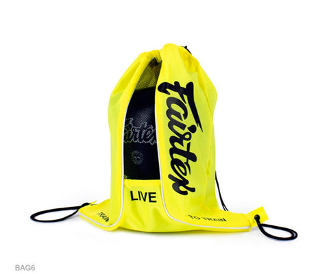 Fairtex BAG6 Sach Bag Yellow