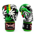 Twins Special Boxing Gloves Grass FBGV-54