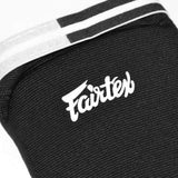 Fairtex Shin Pads SPE Elastic Shin Guards Black