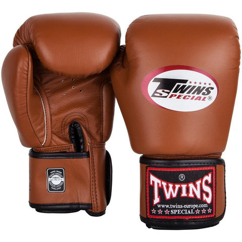 Twins Special Muay Thai Boxing Gloves Brown BGVL-3