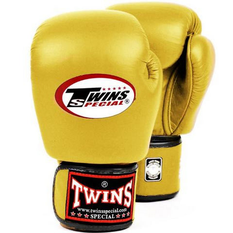 Twins Special Muay Thai Boxing Gloves Gold BGVL-3