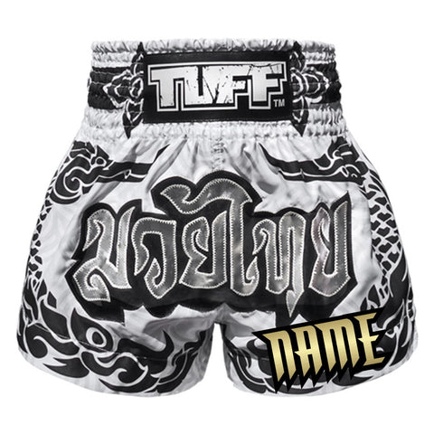 Custom TUFF Muay Thai Boxing Shorts New 2019 Collection THAI Mythical Creature (The Great Hongsa)