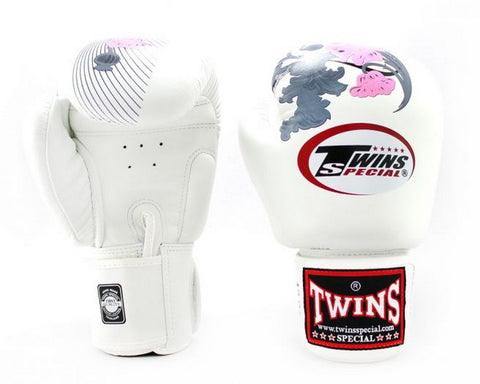 Twins Special Boxing Gloves Flowers Style FBGV-13