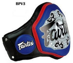 FAIRTEX BPV3 NEW BELLY PAD Black Blue