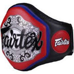FAIRTEX BPV3 NEW BELLY PAD Black Red