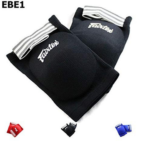 Fairtex EBE1 Competition Elbow Pads Black