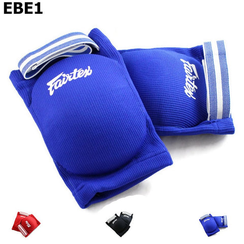 Fairtex EBE1 Competition Elbow Pads Blue