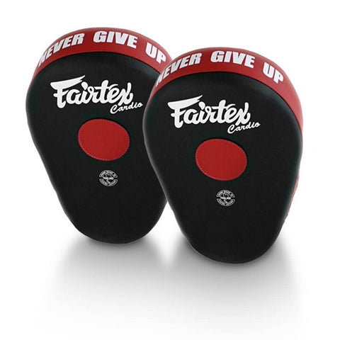 Fairtex FMV13 Maximized Focus Mitts Black Red