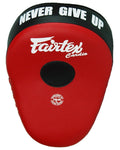 Fairtex FMV13 Maximized Focus Mitts Red Black