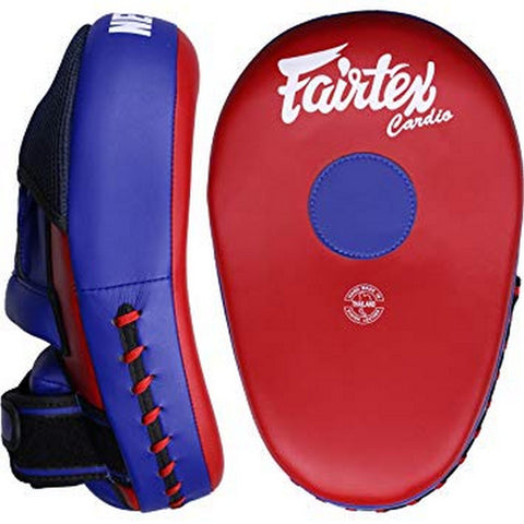 Fairtex FMV13 Maximized Focus Mitts Red Blue